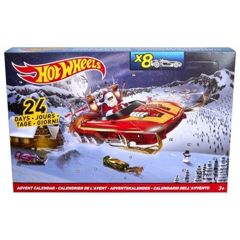 Hotwheels Advent Calendar now £10 Tesco Direct