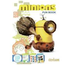 Minions Fun Book Full of facts, quizzes, activities and stickers. 99p @ Argos