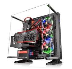 ThermalTake Core P3 Horizontal/Vertical/Wall Mountable Black Case With Acrylic Window - £79.99 @ Scan