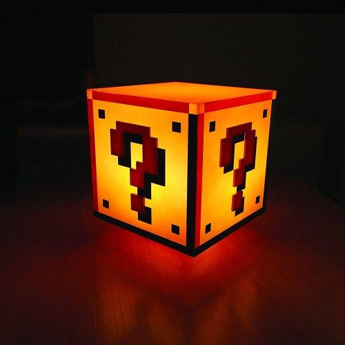 Official Nintendo Super Mario Bros Question Block Light with Sounds £21.78 prime £17.03 @ Amazon