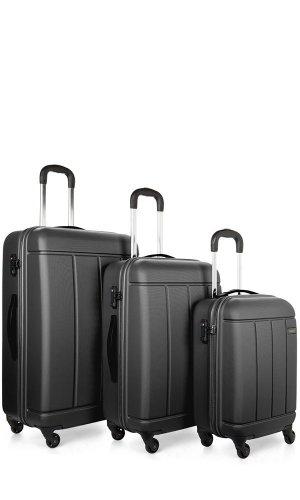 Anter Pluto 3 Piece Hard Suitcase Set in £89.10(was £420)- 78% discount