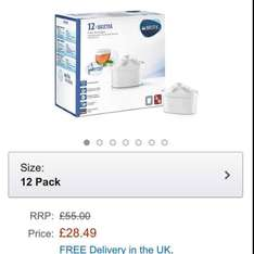 BRITA MAXTRA Water Filter Cartridges - Pack of 12 £28.49 @ Amazon