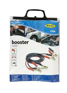 Ring 100A Booster Jump Start Cables 2.5m £3.49 @ screwfix