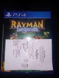 RAYMAN legends PS4 £10.00 instore @ Morrison's