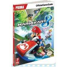 Mario kart 8 guide at Nintendo store for £3 plus £1.99 delivery