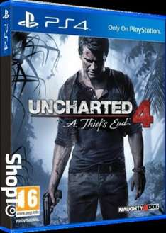 Uncharted 4: A Thief's End (PS4) £22.85 Delivered @ Shopto