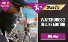 Watch Dogs 2 Deluxe Edition (PS4/XO) £34.99 @ GAME