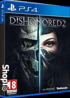 Dishonored 2 (PS4/XO) £29.86 Delivered @ Shopto (Limited Edition Inc Dishonored: DE £31.86/ PC £24.85)
