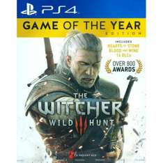 The Witcher 3: Wild Hunt - Game of the Year Edition (PS4) - £19 TESCO