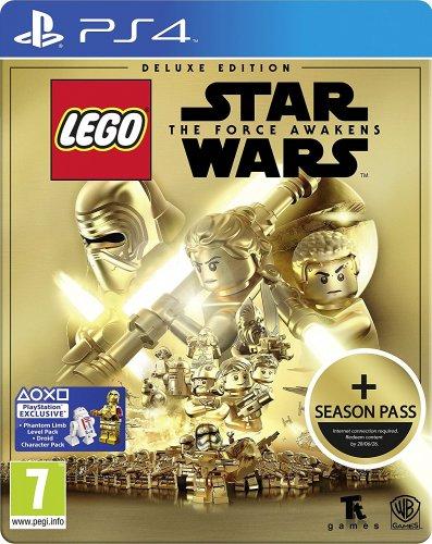 LEGO Star Wars: The Force Awakens Deluxe Steelbook Edition + Season Pass PS4 £25.99 @ Amazon