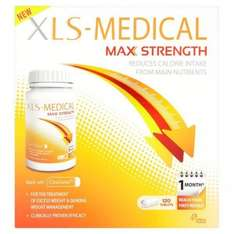 XLS Medical Max Strenght 120 tablets (1 month) 1 for £31.99 or 2 for £47.98 with free delivery@ Superdrug