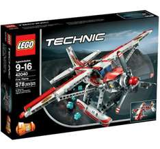 Lego Fire Plane 42040 - £22.50 at Tesco Direct