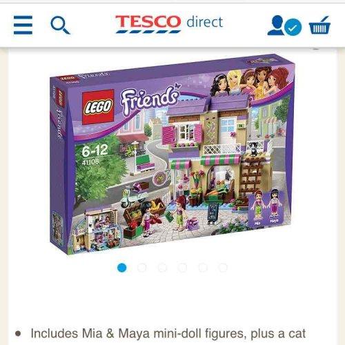 Lego friends heartlake food market £27.95 online Tesco direct