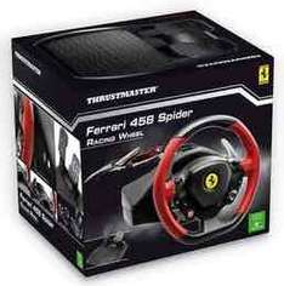 Thrustmaster Xbox One Ferrari 458 Steering Wheel @ Game