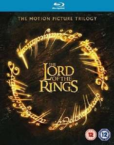 Lord Of The Rings Trilogy Theatrical Blu Ray. £4.99 Ebay/entertainment store