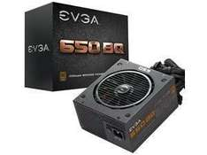 EVGA 650 Watt BQ Semi Modular ATX PSU - £45.48 - Scan