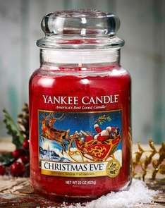 Christmas Eve Yankee candle medium at Amazon for £7.59 (Prime or add £3.99)