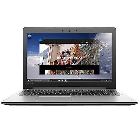"Lenovo Ideapad 310 Laptop, Intel Core i3 6100u, 8GB RAM, 1TB, 15.6"", Silver £249.95 @ John Lewis"