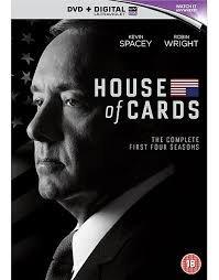 House of cards season 1-4 DVD £25 @ Tesco