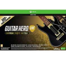Guitar Hero: The Supreme Party Edition Xbox One & PS4 @ Argos