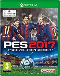 PES 17 XBOX ONE / PS4 at Amazon for £27.99
