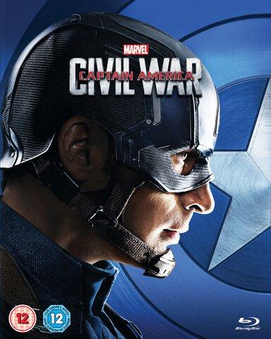 Captain America: Civil War (Captain America O-Ring) Blu-ray £9.99 at Zavvi
