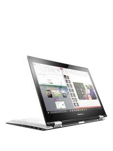 Lenovo YOGA 500 2 in 1 convertible hybrid laptop white intel i3 Core i3, 4GB RAM, 1TB Hard Drive, 14 inch Touchscreen £279.99 (£3.99 delivery) BLACK FRIDAY possible 2.2%quidco or 2%+£10TCB @ very.co.uk