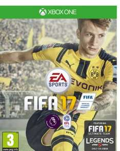 FIFA 17 Standard Edition £29 at Amazon [Xbox One/PS4]