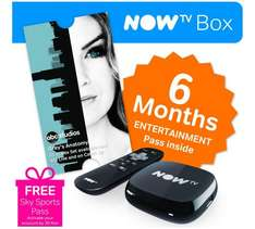 NOW TV Box with 6 Month Entertainment Pass at Argos