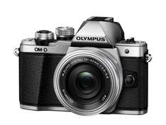 Olympus OM-D E-M10 Mark II Compact System Camera in Silver + 14-42mm + 40-150mm Lenses - £539 Jessops before cashback - £464 after Olympus cashback
