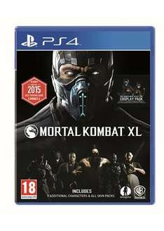 Mortal Kombat XL (PS4)- £13.69 Base.com