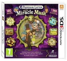 Professor Layton: The Miracle Mask Nintendo 3DS Game £2.99 at Argos
