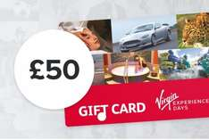 Virgin Experience Days £50 for £40