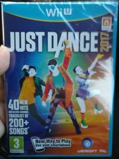 wii u just dance 2017 - £17.99 instore @ Sainsburys