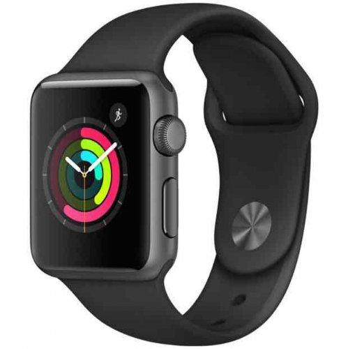 Apple Watch Series 1 38mm Space Grey / Black Sport Band