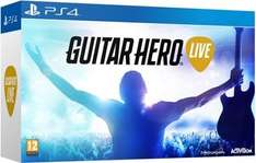 Guitar Hero Live PS4 (Includes Guitar) for £20 at Tesco Direct