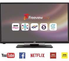 """JVC 32"""" Smart LED TV with Freeview Play (HD Ready) £149 @Currys"""