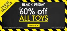 Mothercare up to 60% off toys