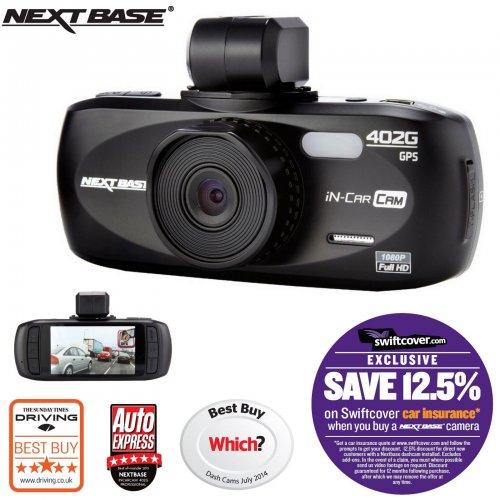 Nextbase 402G Professional Car Dash Dashboard @ eBay (velocityoutlet)