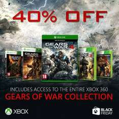 Gears of War 4 xbox one digital play anywhere and entire Gears collection