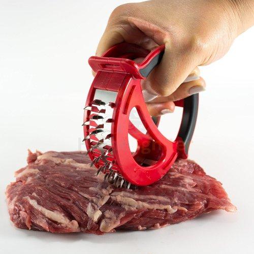 Meat tenderizer kitchen tool - for tenderizing chicken steak pork & veal