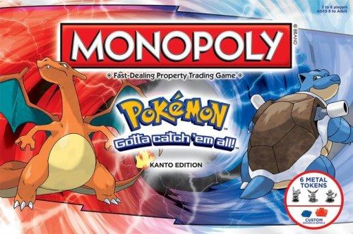 Pokémon Monopoly Kanto Edition £16.99 + £1.99 postage at Groupon (£10 back at Topcashback making it £8.98)