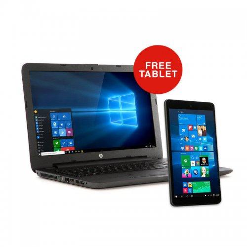 "HP 250 G5 i5 Laptop + FREE Tablet (Intel Core i5-6200U 2.3GHz, 8GB RAM, 15.6"" LED Screen, Windows 10 - Free 8"" Windows 10 Tablet) £399.00 Delivered @ eBuyer"