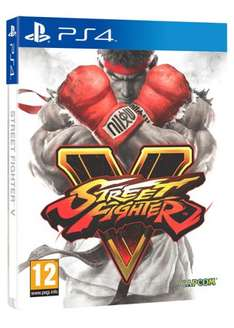 [PS4] Street Fighter V Limited Edition Steelbook - £15.29 - Base