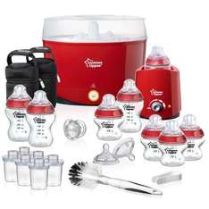 Tommee Tippee Closer to Nature Essentials Kit for £44.99 from £150 - Red/Black/White - Amazon