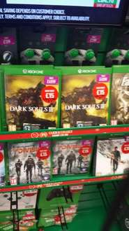 dark souls 3 XBOX ONE in store at game £ 15 new
