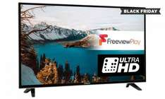 Finlux 55'' A+ Rated 4K Ultra HD Wi-Fi ready  Freeview HD LED Smart TV for £399 With Free Del @ Groupon