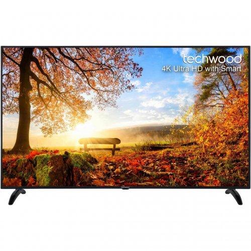 "Techwood 65AO4USB 65"" Smart LED 4K Ultra HD Freeview HD TV Black New - £539 @ AO eBay"