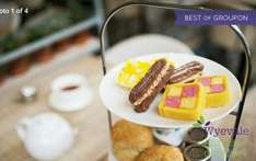 Seasonal Afternoon Tea at Wyevale Garden Centres only £8.00 for 2 or £15.25 for 4 with Groupon