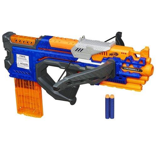 Nerf Gun N-Strike Elite CrossBolt Blaster - NOW 17.99 WAS 29.99 @ Tesco Direct